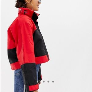 ASOS COLLUSION windbreaker cropped jacket